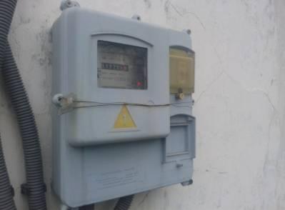Установка электросчетчика